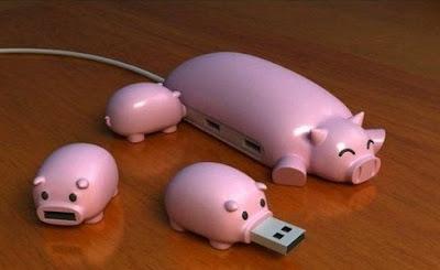 MEMORIA USB CERDOS