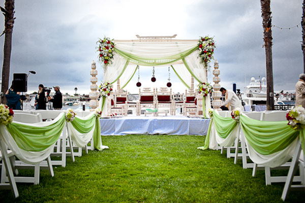 Our brides want a custom mandap A mandap designed for their wedding