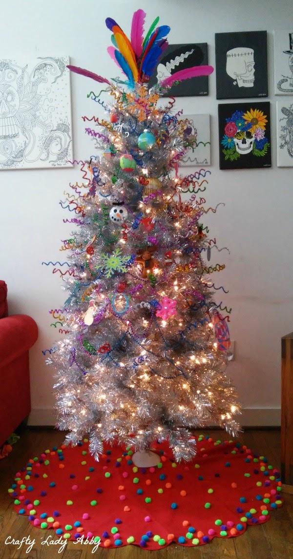 Felt Christmas Tree Skirt Pattern