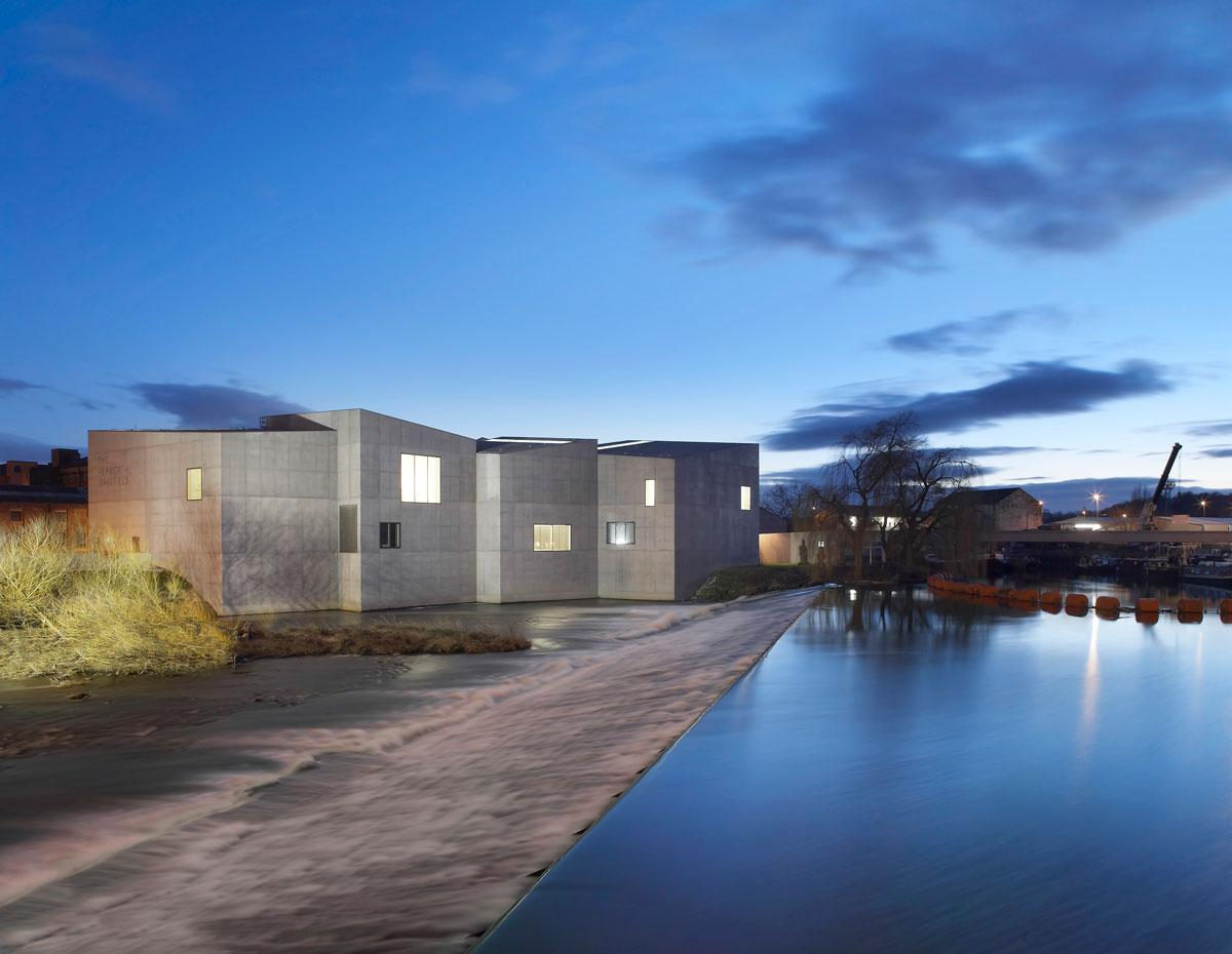 A f a s i a david chipperfield architects for Wakefield house