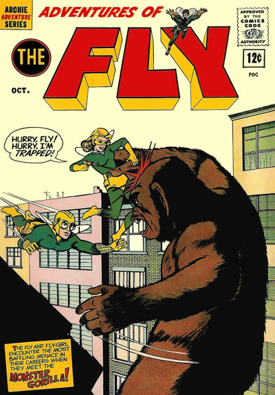 (More) Rip's FAVORITE APE COMICS COVER Of The Day!