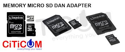 Perbedaan Micro SD dengan Micro SDHC