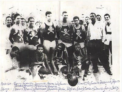 Equipo de Baskeball de Barahona 1956