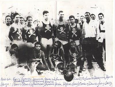 Equipo de Baskeball de Barahona 1956