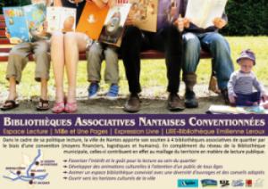 Bibliothèques Associatives Nantaises Conventionnées