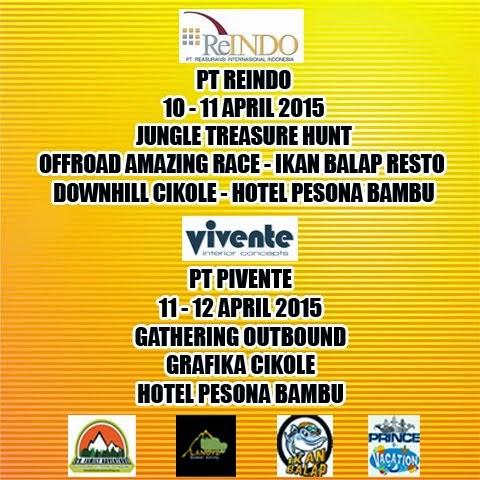 OFFROAD AMAZING RACE OUTBOUND LEMBANG BANDUNG