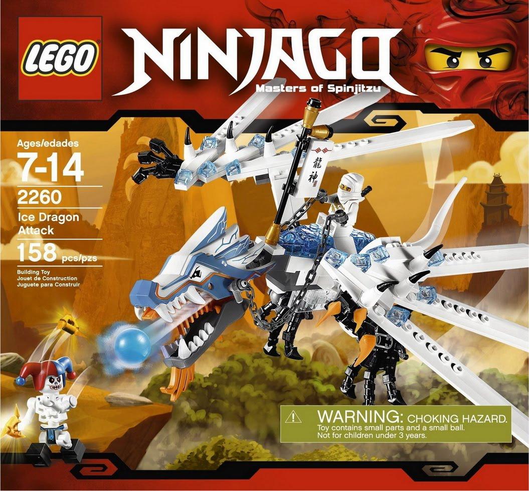 Repubblick lego set database 2260 ice dragon attack - Photo lego ninjago ...