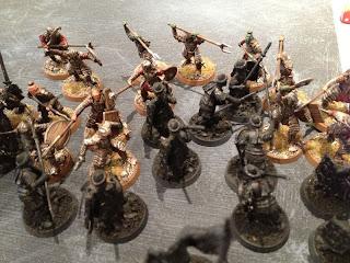 Hobbit SBG - Arnor engage Morannon orcs