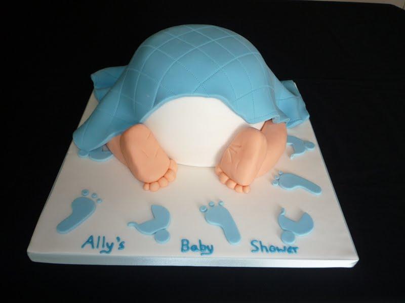Baby Bum Cake Images : Elaine Allan: Baby bum - Baby shower cake