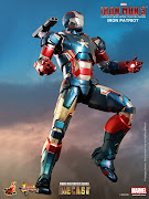 Imágenes del muñeco de acción de Iron Patriot que aparecerá en la película . (patrio )