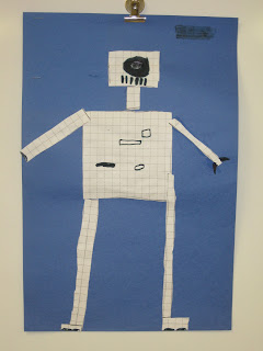 area and perimeter robot, measurement activity