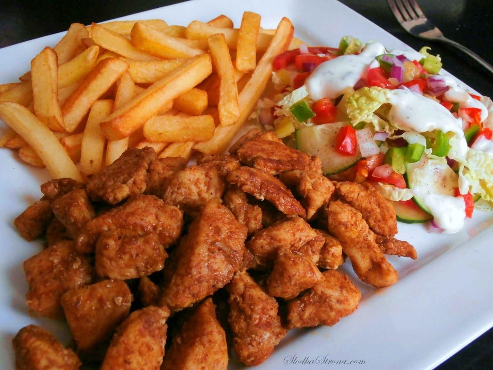 Shoarma z Kurczaka - Przepis - Słodka Strona