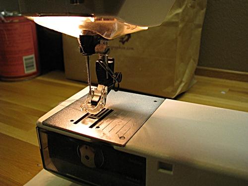 Carpe Lanam Darn Those Jeans My First Tutorial Fascinating Darning Sewing Machine
