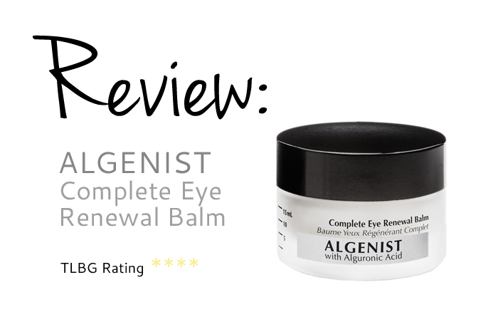 Review: Algenist Complete Eye Renewal Balm