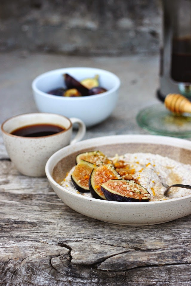 Raw Nut + Seed Porridge with Fresh Figs ⎮ happy hearted kitchen