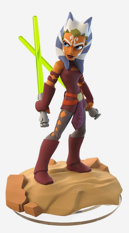 JUGUETES - DISNEY Infinity 3.0 - Starter Pack | Star Wars Ahsoka Tano & Anakin Skywalker | Videojuegos -  Muñecos - Figuras  Plataformas: PlayStation®4, PlayStation®3, Wii U™, Xbox One y Xbox 360
