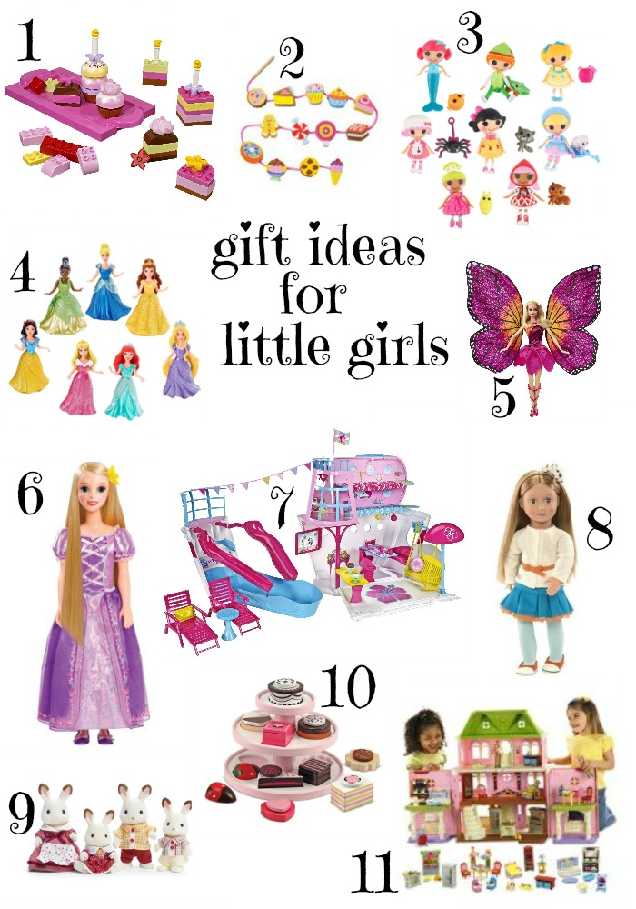 Girly gift ideas for ages 3-6 - Christmas Gift Ideas For Little Girls (ages 3-6) The How To Mom