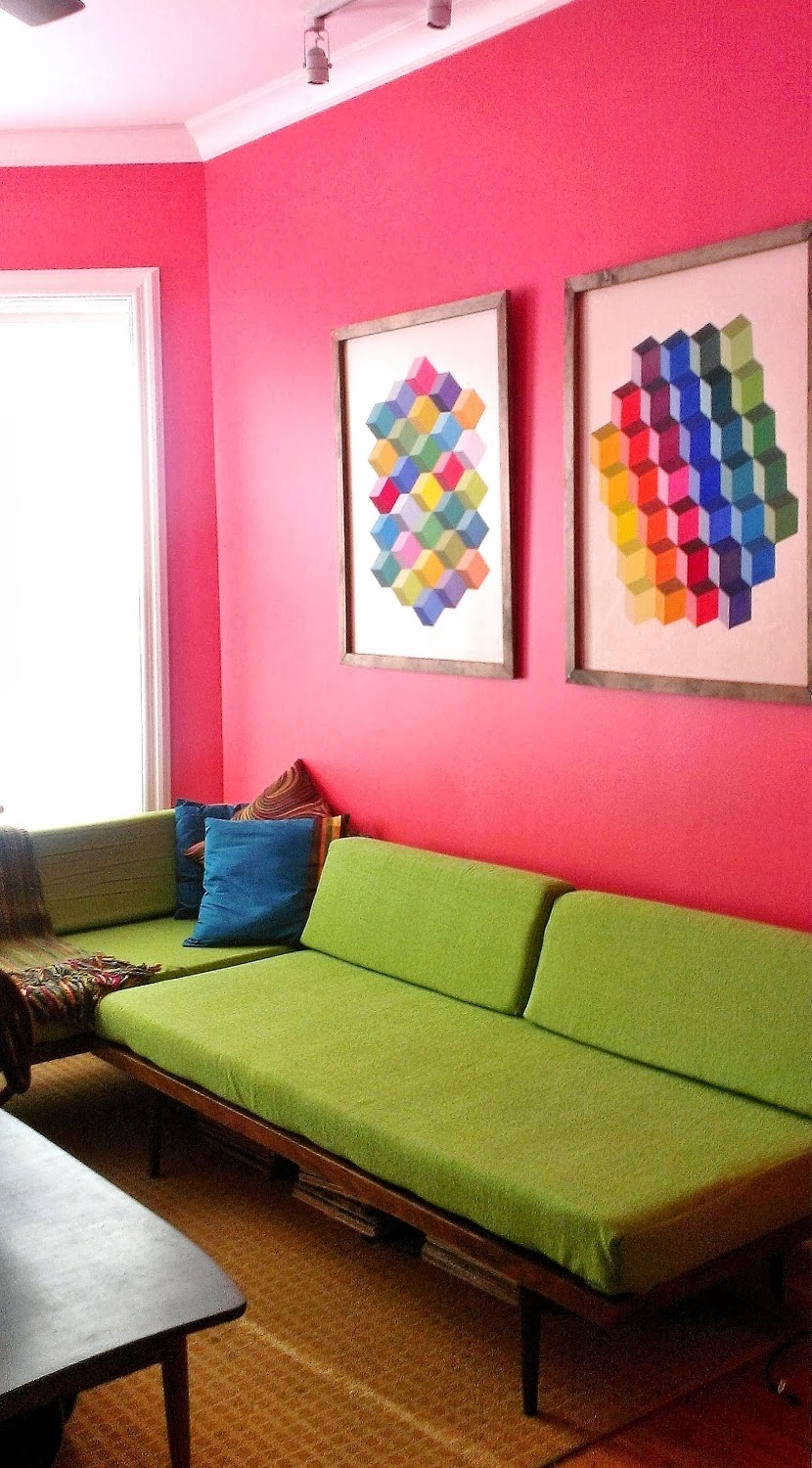 Apartment 528: Living Room Color Change