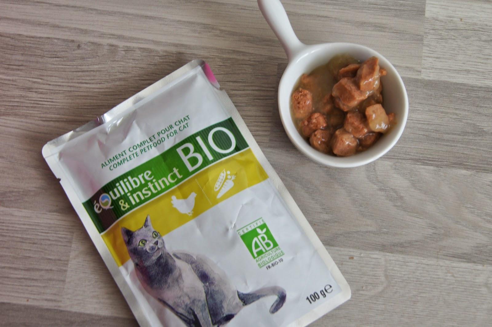sachet nourriture chat bio