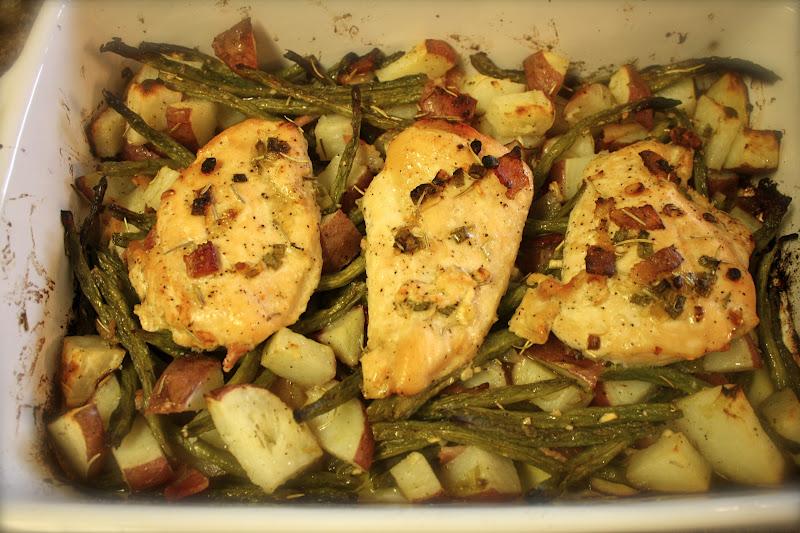 Kuki's Kookbook: Rosemary Lemon Roasted Chicken and Vegetables