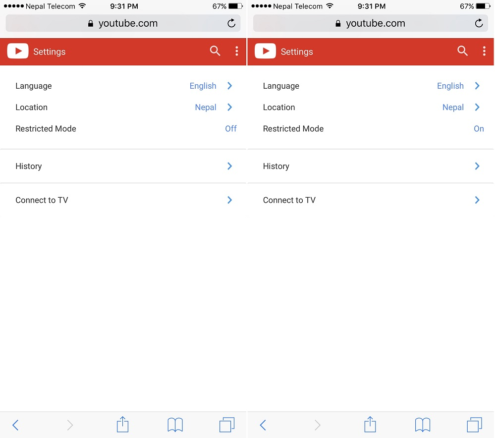 How To Enable Or Disable Restricted Mode In Youtube On Iphone, Ipad Or Pc  How How To Delete Your Youtube Search History