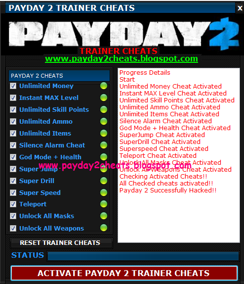 how to run in payday 2