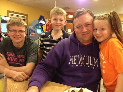 Nick, Jacob, John and Amanda