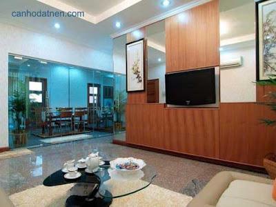 Phòng khách căn hộ New SaiGon
