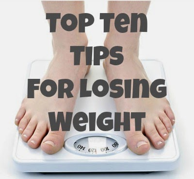 top ten tips for losing weight