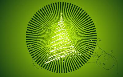 pom de craciun verde
