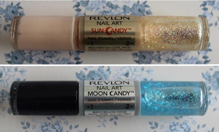 revlon sun and moon candy nail art