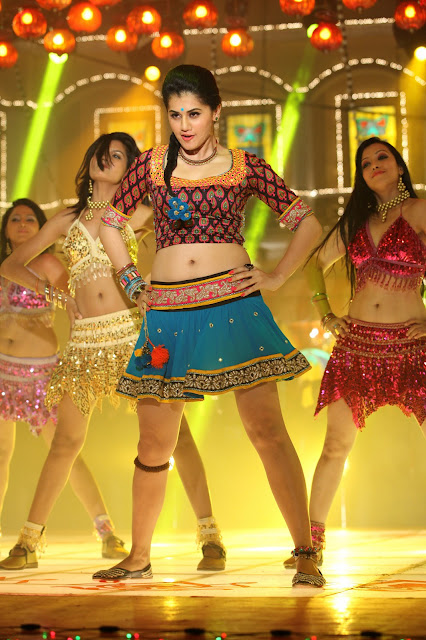 Actress Tapsee Latest Navel Show Photos