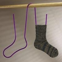 Связать носки крючков