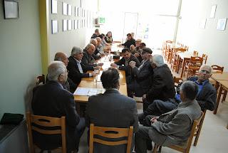 O υποψήφιος Δήμαρχος Γιάννης Κόρδατζης στα Βάγια