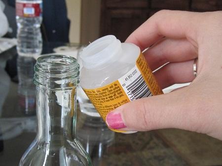 Como hacer floreros con botellas pintadas - Que hacer con botellas de vidrio ...
