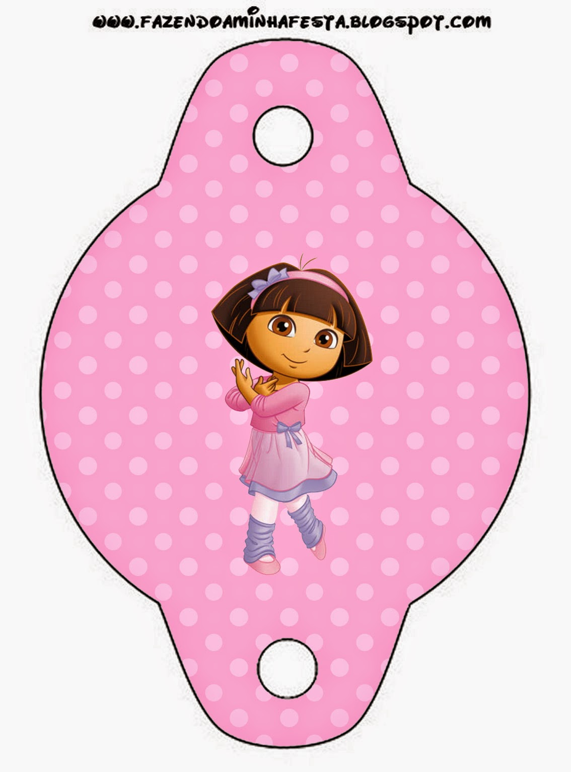 dora dancing ballet free party printable is it for parties is