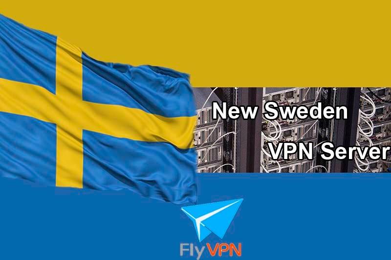 Sweden VPN Server FlyVPN