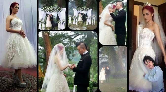 Beredar Foto Pernikahan Mulan Jameela Dan Ahmad Dhani