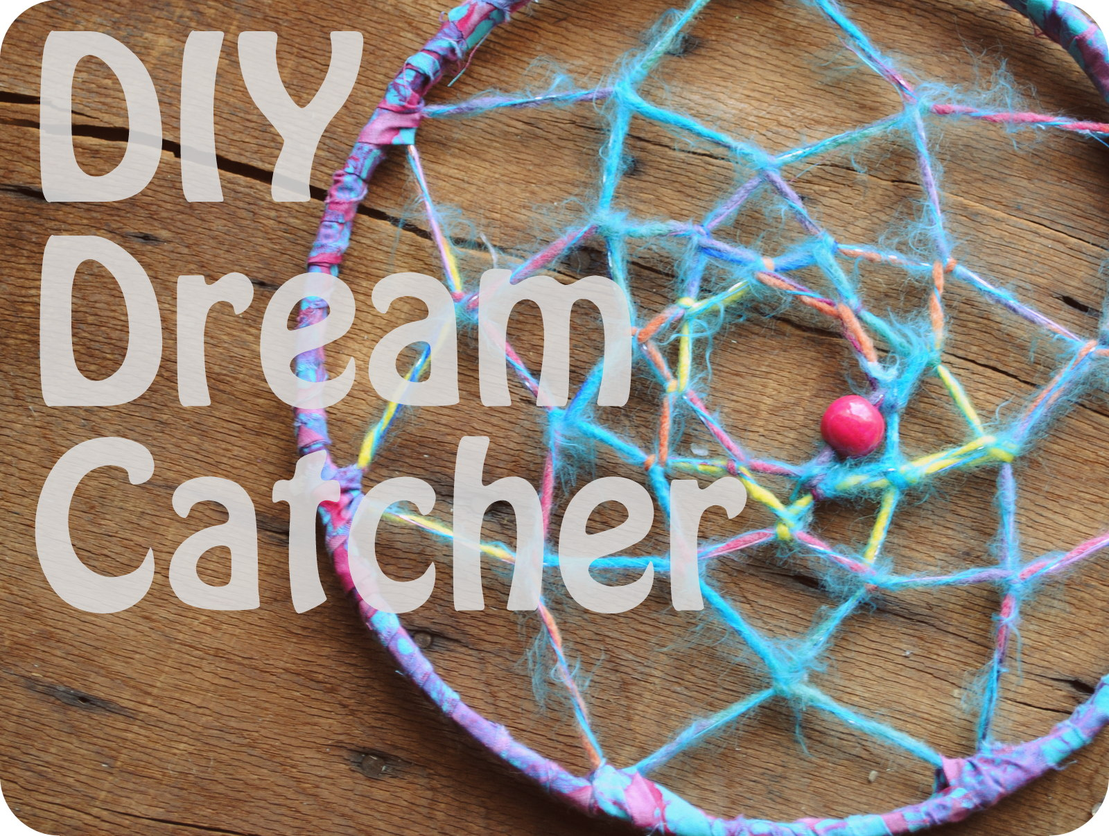 Run 2 the Wild: DIY TUESDAY: DREAM CATCHER