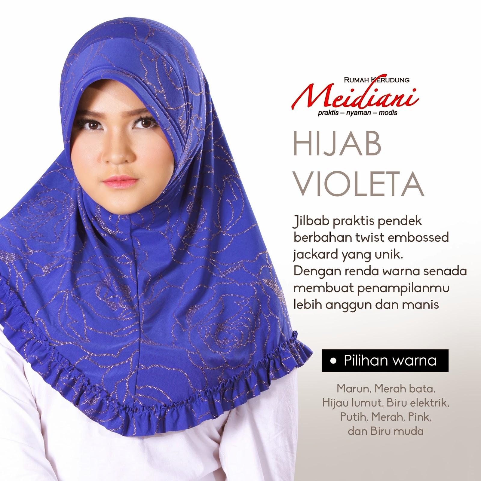 Hijab Violeta