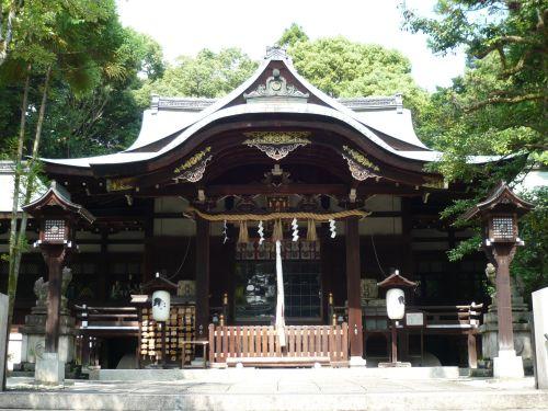 岡崎神社拝殿