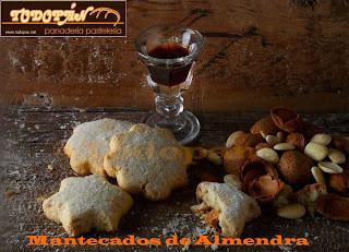 Mantecados de Almendra
