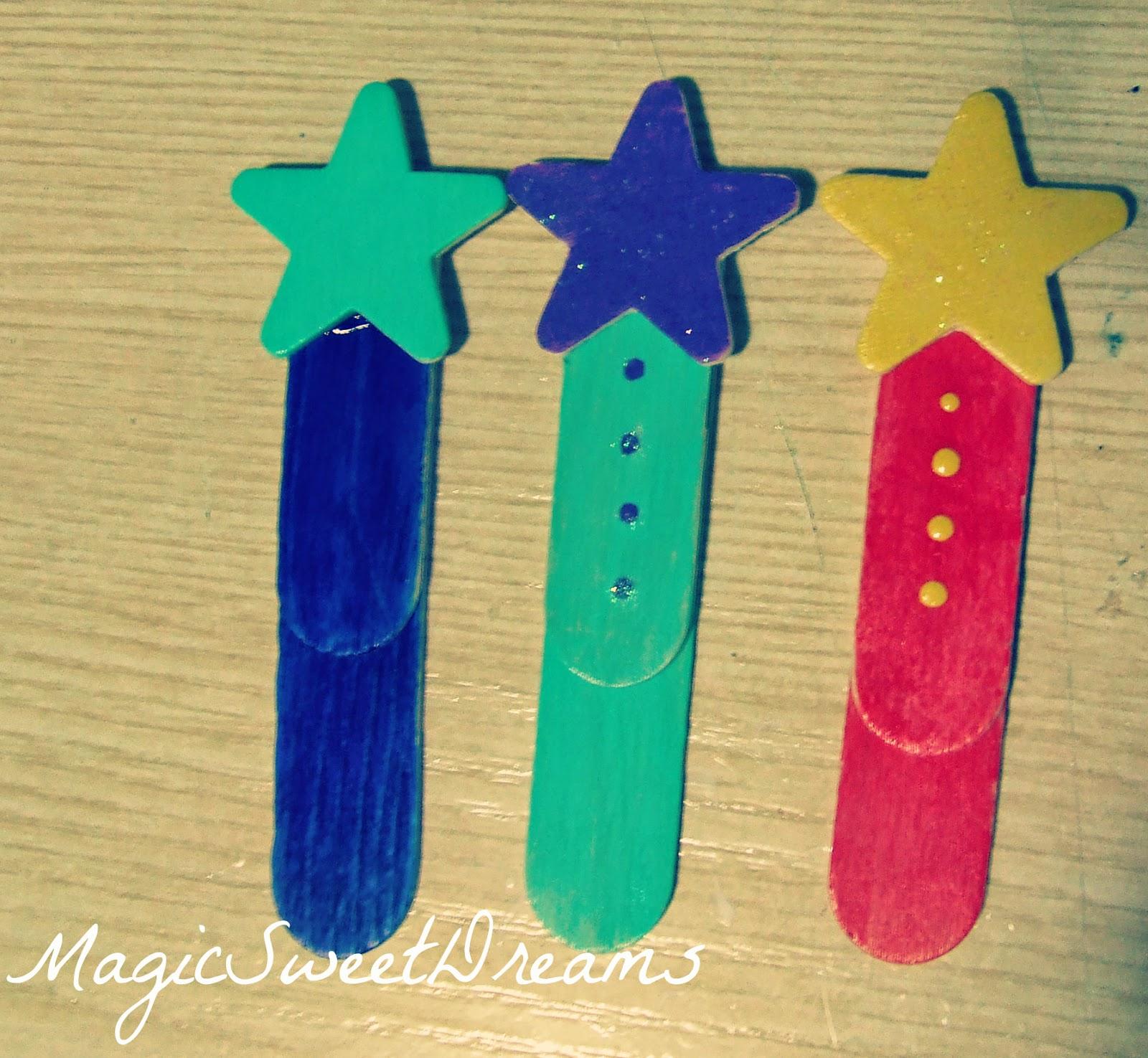 spesso MagicSweetDreams: Segnalibri fai da te - DIY Bookmarks FH84