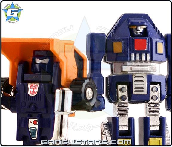Gobots Tank Transformers Huffer MiniBot ポピー マシンロボ タカラ ミクロマン ミクロチェンージ ミクロロボットカー
