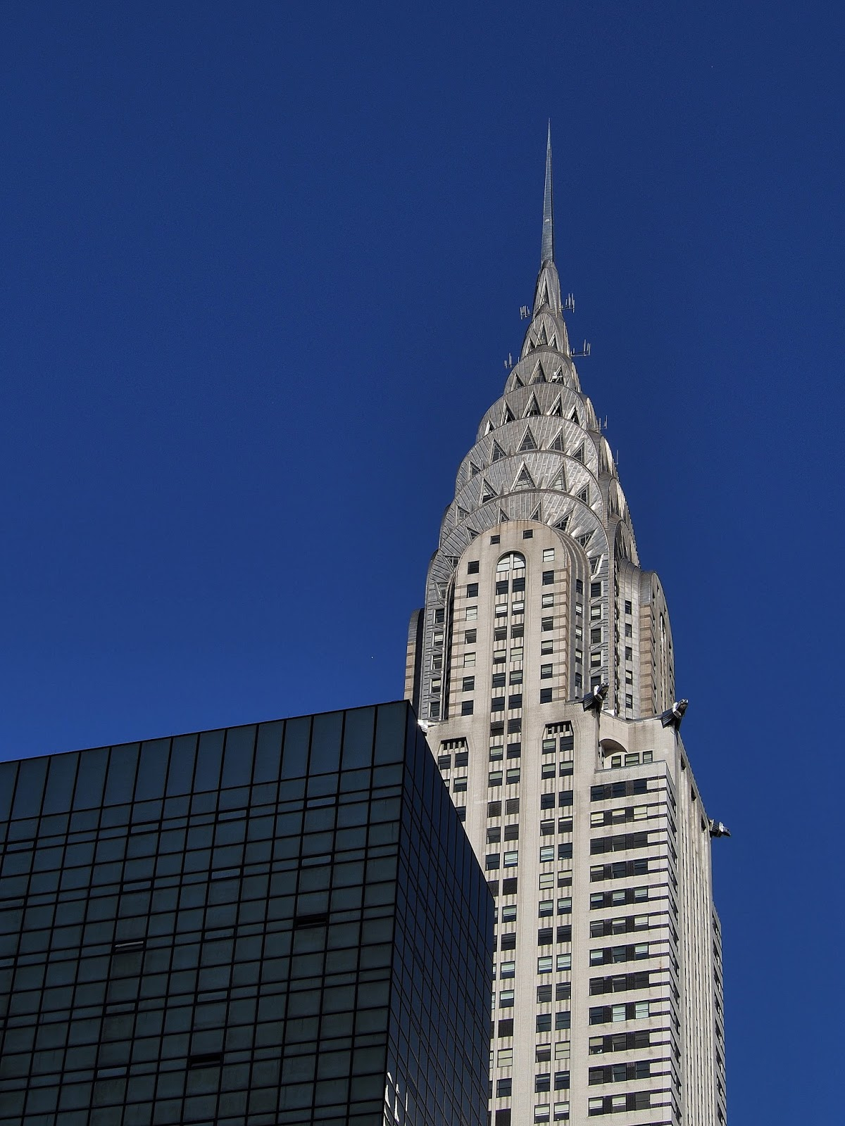 Art Deco meets Modern Glass, #chryslerbuilding #artdeco #nyc #architecture 2014