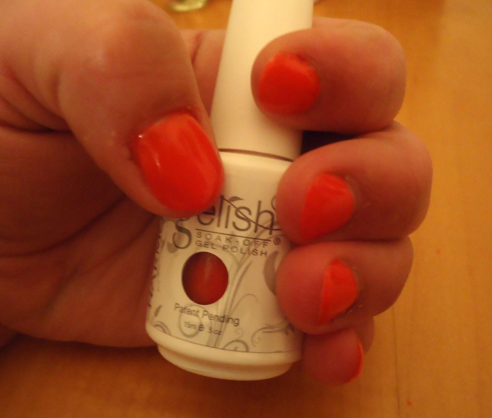 gelish / soak off gel nails tutorial