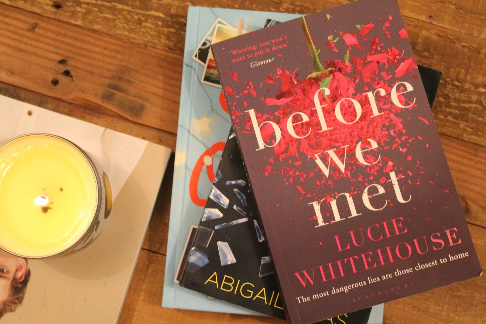 Gingerbread Smiles - Book Review, Lucie Whitehouse - Before We Met