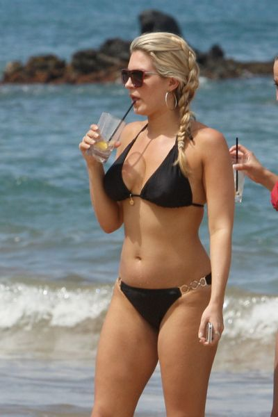 Retro Bikini Mallory Hytes Hagan And Skyler Kamaka Flaunt