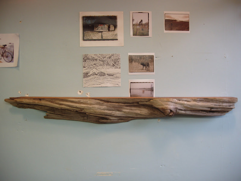 Driftedge Woodworking Driftwood Pacific Red Cedar Mantle