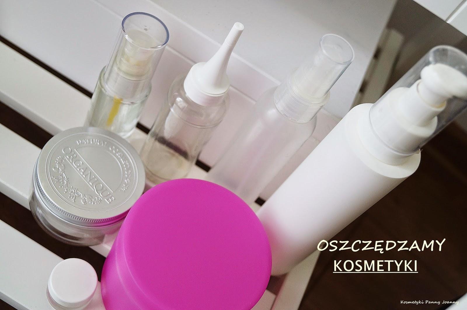 Oszczędzamy kosmetyki cz. I - pielęgnacja